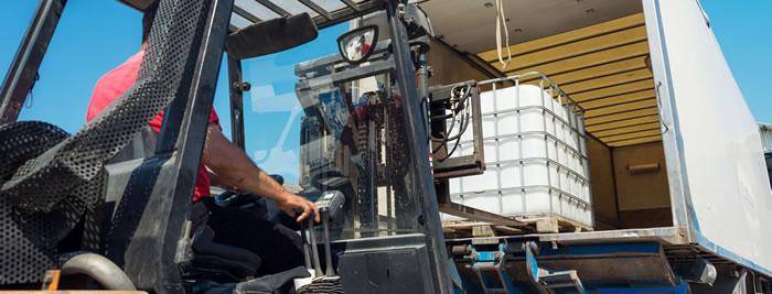Kunststoffbehälter Transport
