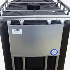 IBC Behälter Stahl-Etikettierschild